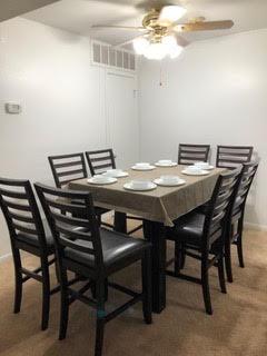 Z Condo Dining Room